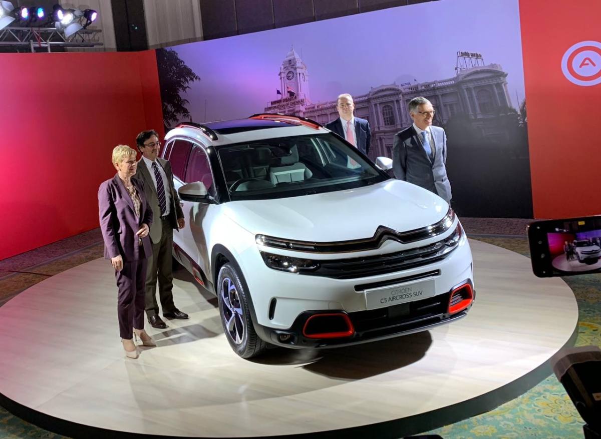 Citroën to kickstart its India journey with the C5 Aircross SUV