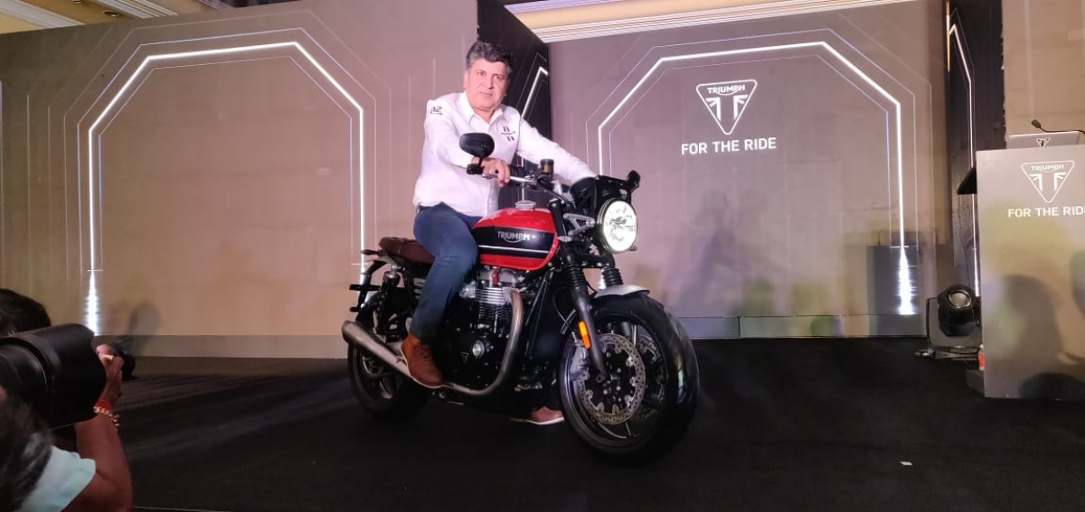 Triumph India launches the Speed Twin at Rs 9.46 lakh, ex showroom