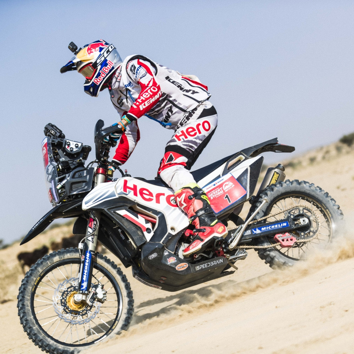 """""""The tracks are really fast but there is a certain element of risk"""" says CS Santosh before he enters the Desert Storm"""