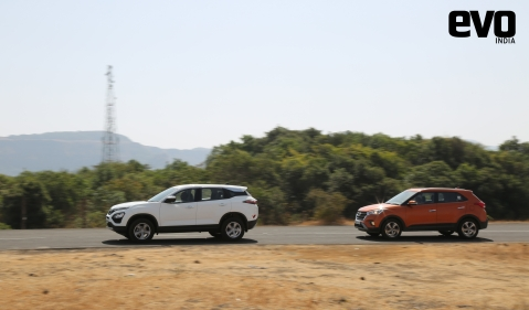 Tata Harrier vs Rivals: Taking on the Hyundai Creta in part one