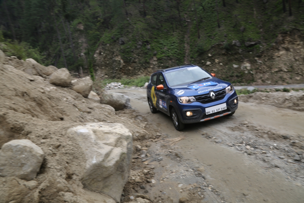 Day 23 – Renault India Diamond Trail – Kwid goes for servicing