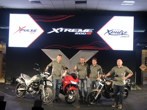 Hero XPulse 200 range and Xtreme 200S launched