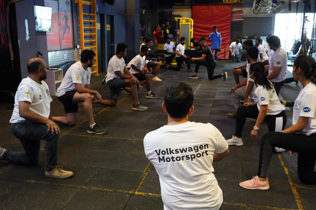 Pre-season fitness camp for 2019 Volkswagen Ameo Cup drivers concludes