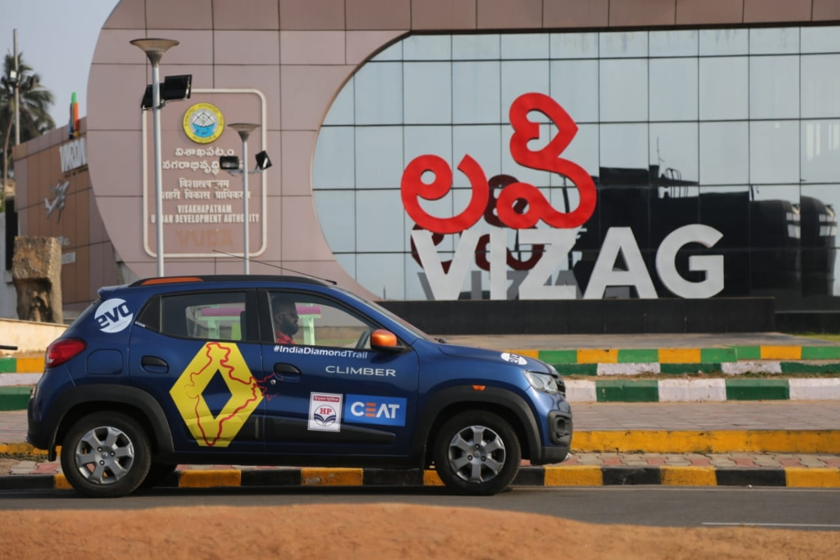 Day 14 – Renault India Diamond Trail – Exploring Visakhapatnam
