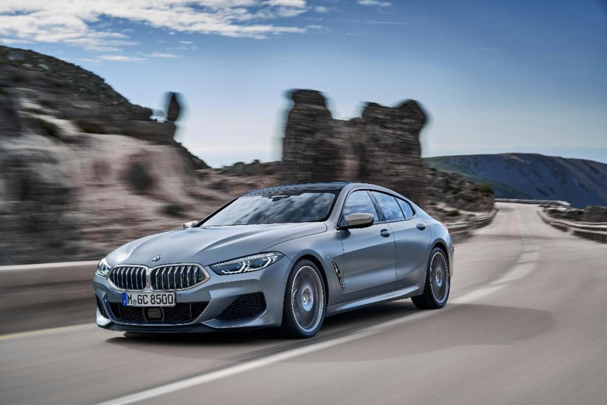 BMW 8 Series Gran Coupe: 4 door sportscar revealed