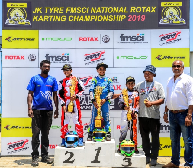 JK Tyre – FMSCI National Karting Championship – Round 1: Rotax Class