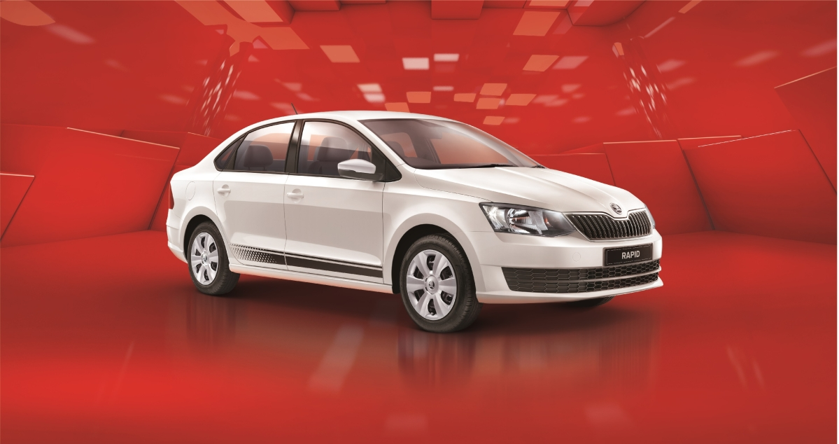 Skoda launches limited edition Rapid, the Rider