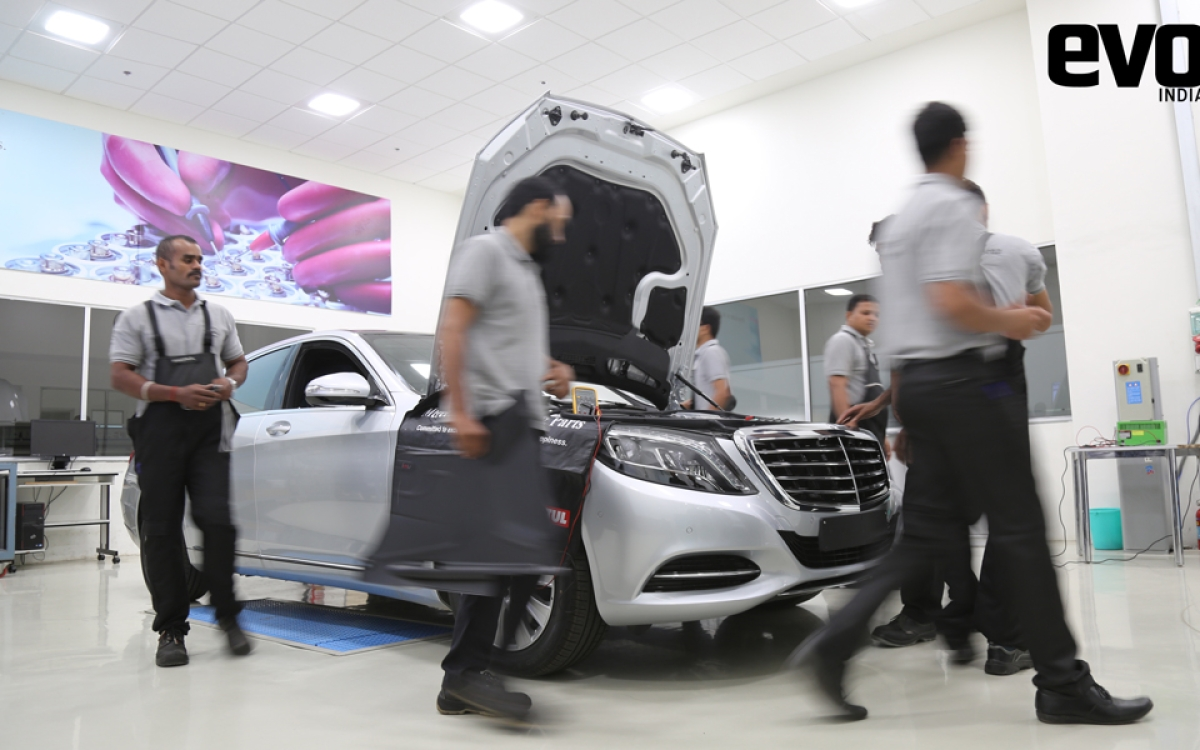 How expensive is it to maintain a Mercedes-Benz in India?