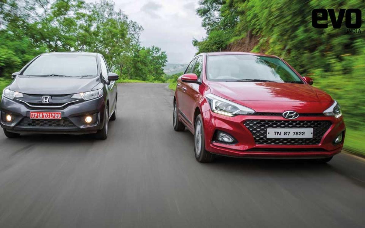 Hatchback comparo: Hyundai Elite i20 vs Honda Jazz