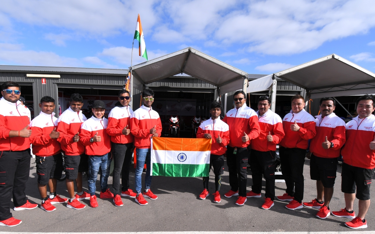 Honda India's racing team arrives in Thailand for Round 3 of