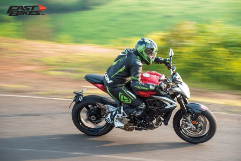 Sex on wheels: MV Agusta Brutale 800 review
