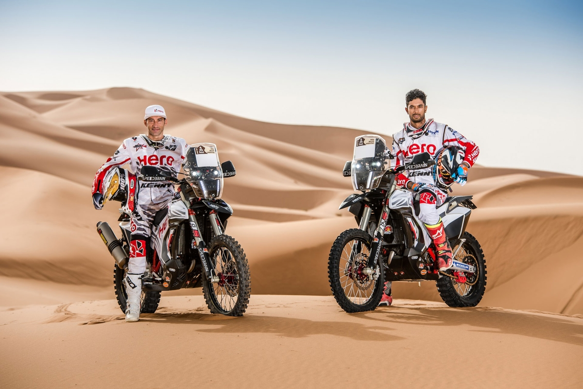 Hero Motosports Team Rally all set for the OiLibya Rally of Morocco