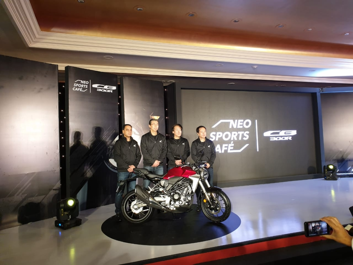 Honda CB300R launched in India at Rs 2.41 lakh