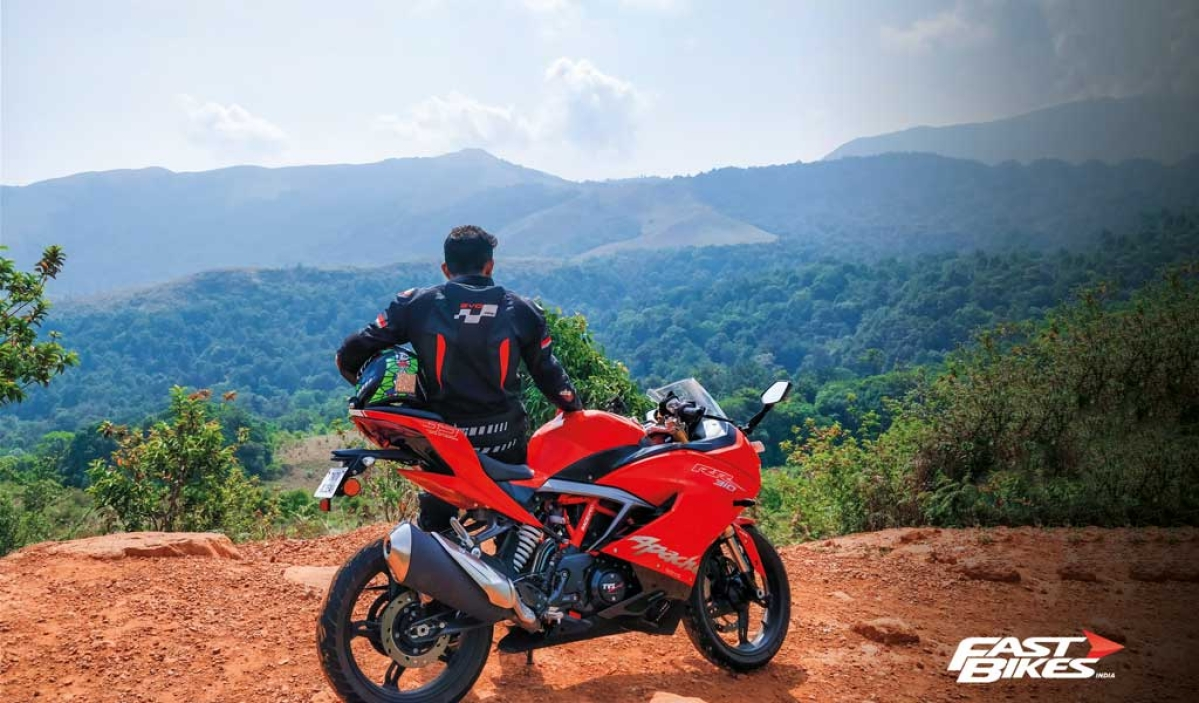 Pune to Kanyakumari and back on the TVS Apache RR 310