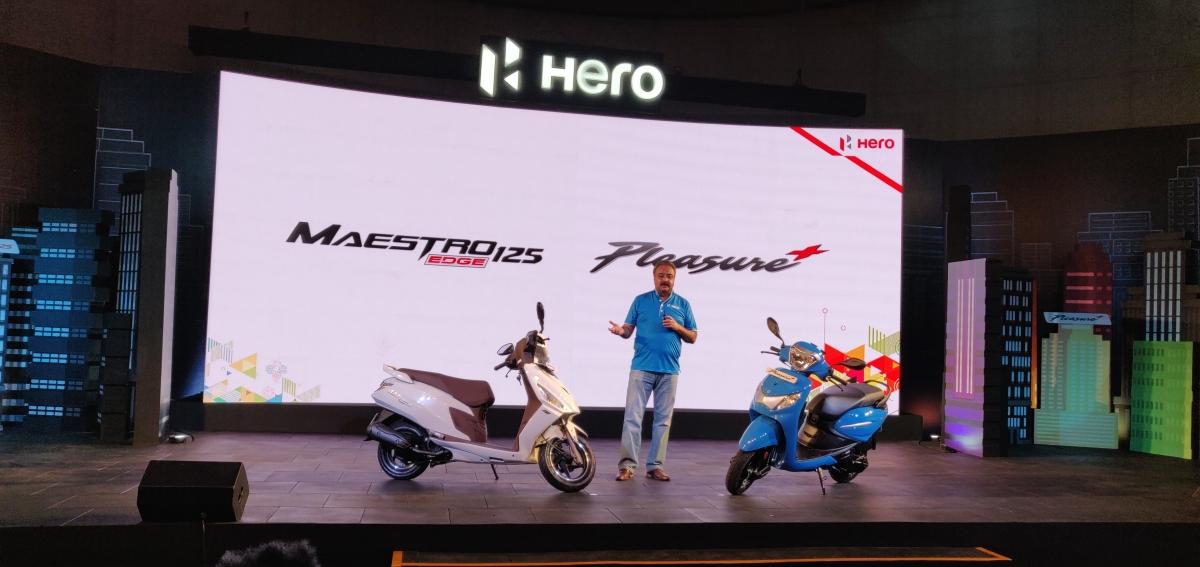 Hero MotoCorp launches the Maestro Edge 125 and Pleasure Plus 110
