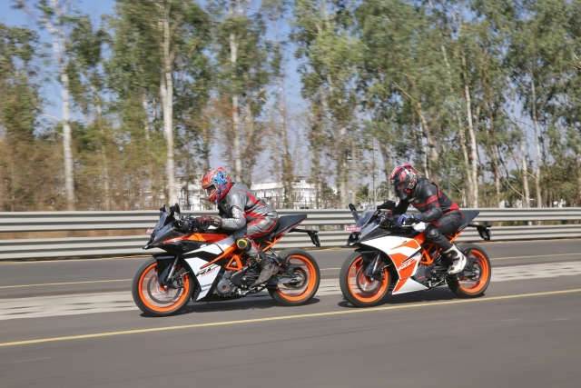 2017 KTM RC 390 and RC 200 Review