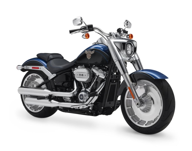Harley Davidson launches the Deluxe, Low Rider and anniversary edition Fat Boy