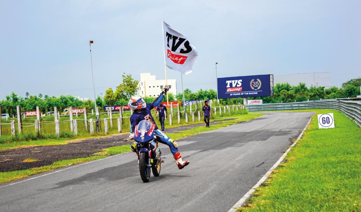 TVS Racing Diaries: Jagan Kumar's winning streak