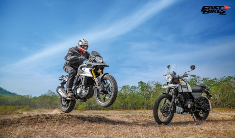 BMW G 310 GS vs Royal Enfield Himalayan: Beginner ADV Shootout