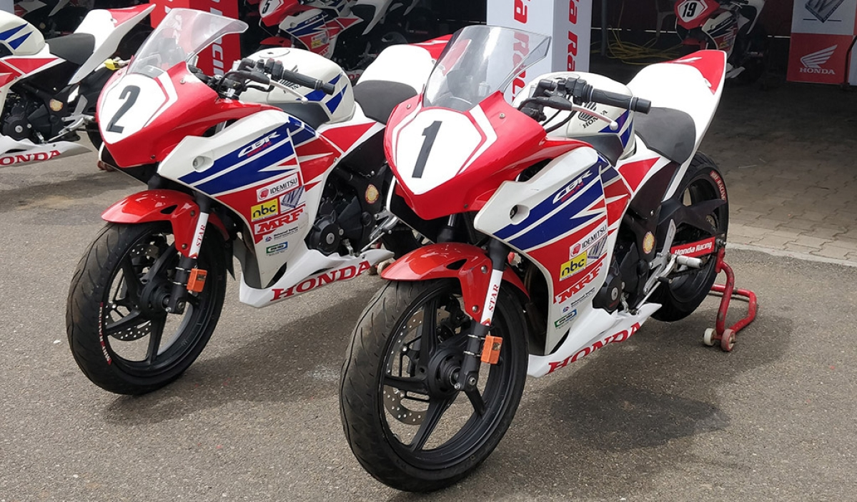 2018 Honda CBR 250R motorcycle for Honda India Talent Cup revealed