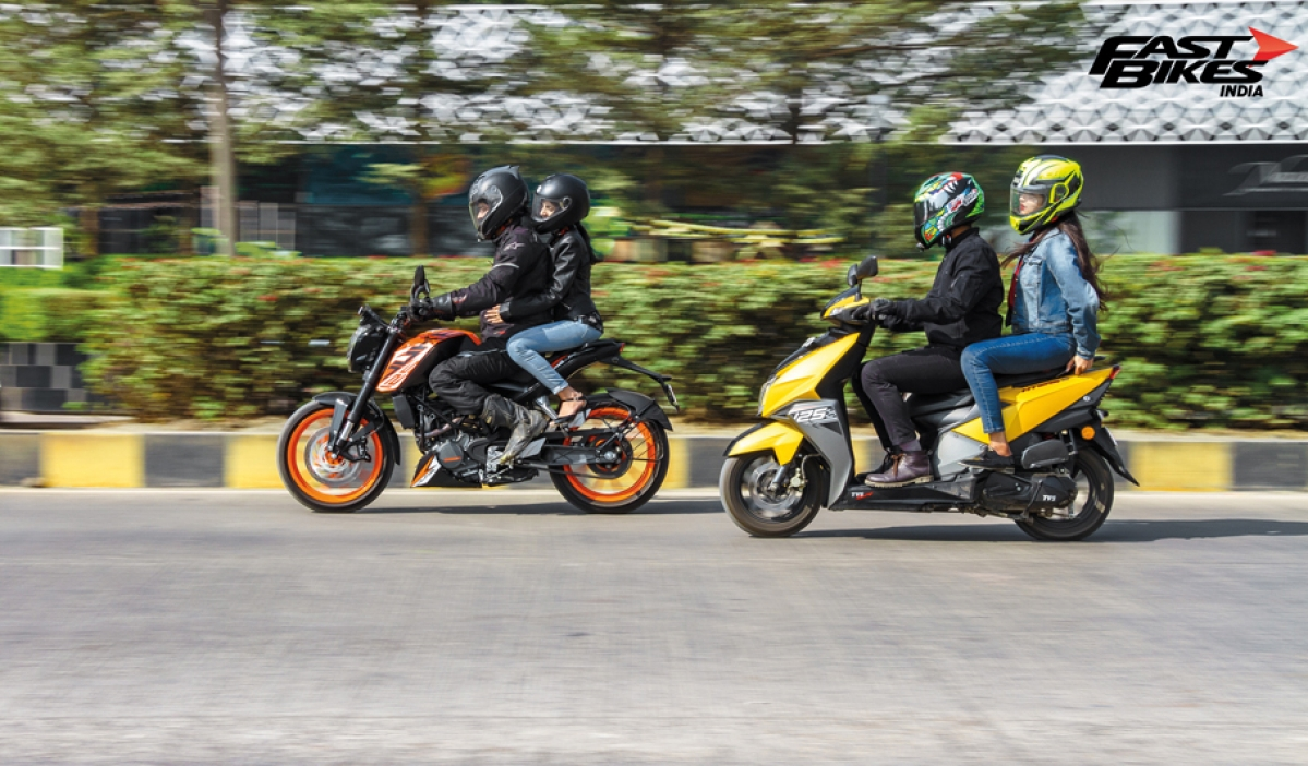 KTM 125 Duke vs NTorq 125: Which one will the ladies love?
