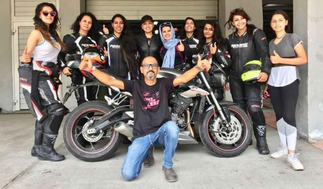Track Furiez conducts first all women track day at BIC