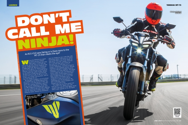 Bajaj's new Dominar aims to teach the competition a thing or two! Full details in Fast Bikes India's April issue