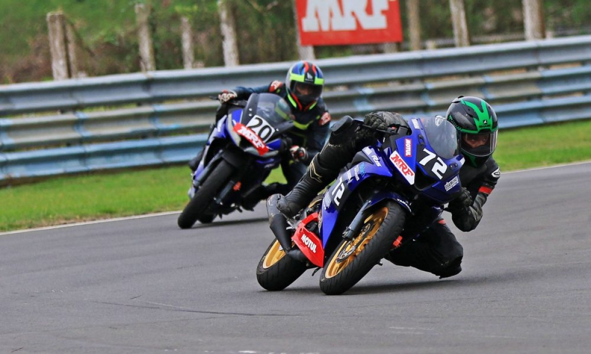 MRF MMSC FMSCI INMRC 2018: Rajiv Sethu ends second round with double wins