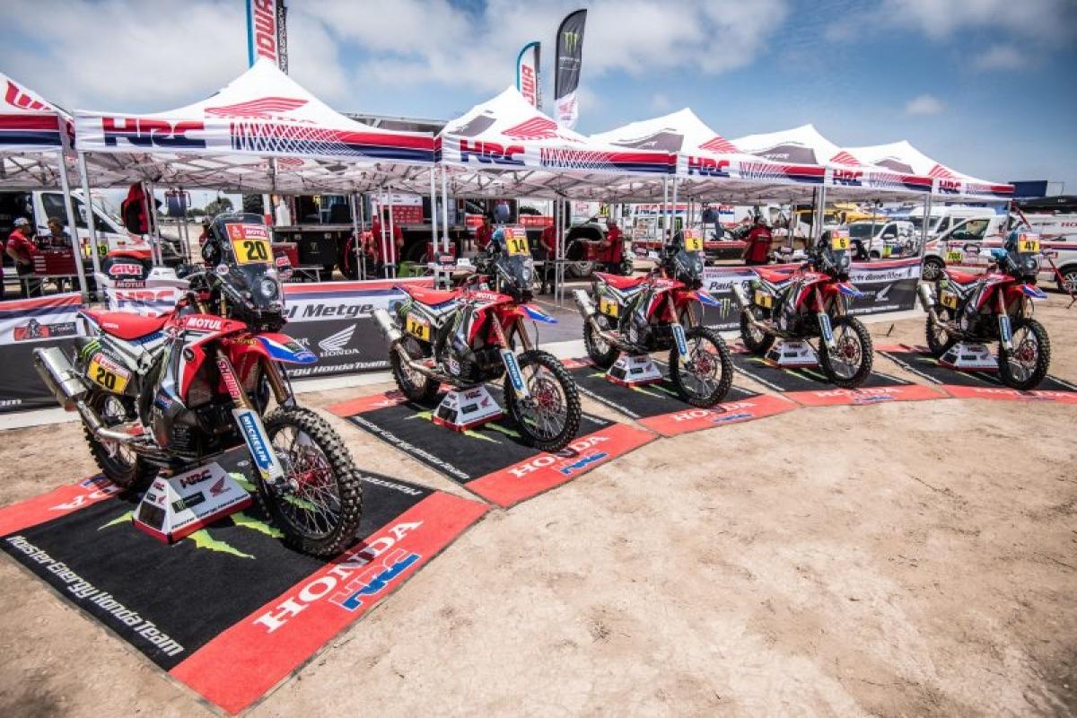 Monster Energy Honda all set for Dakar 2018