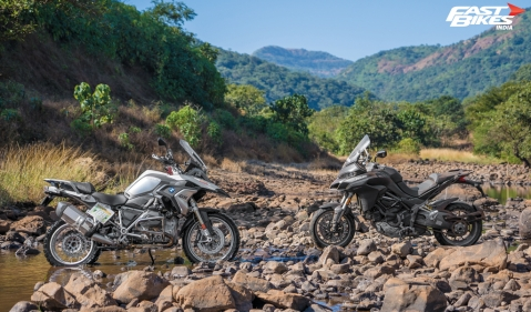 BMW R 1200 GS and Ducati Multistrada 1260 S- Big-bore ADVs for the road and everything else