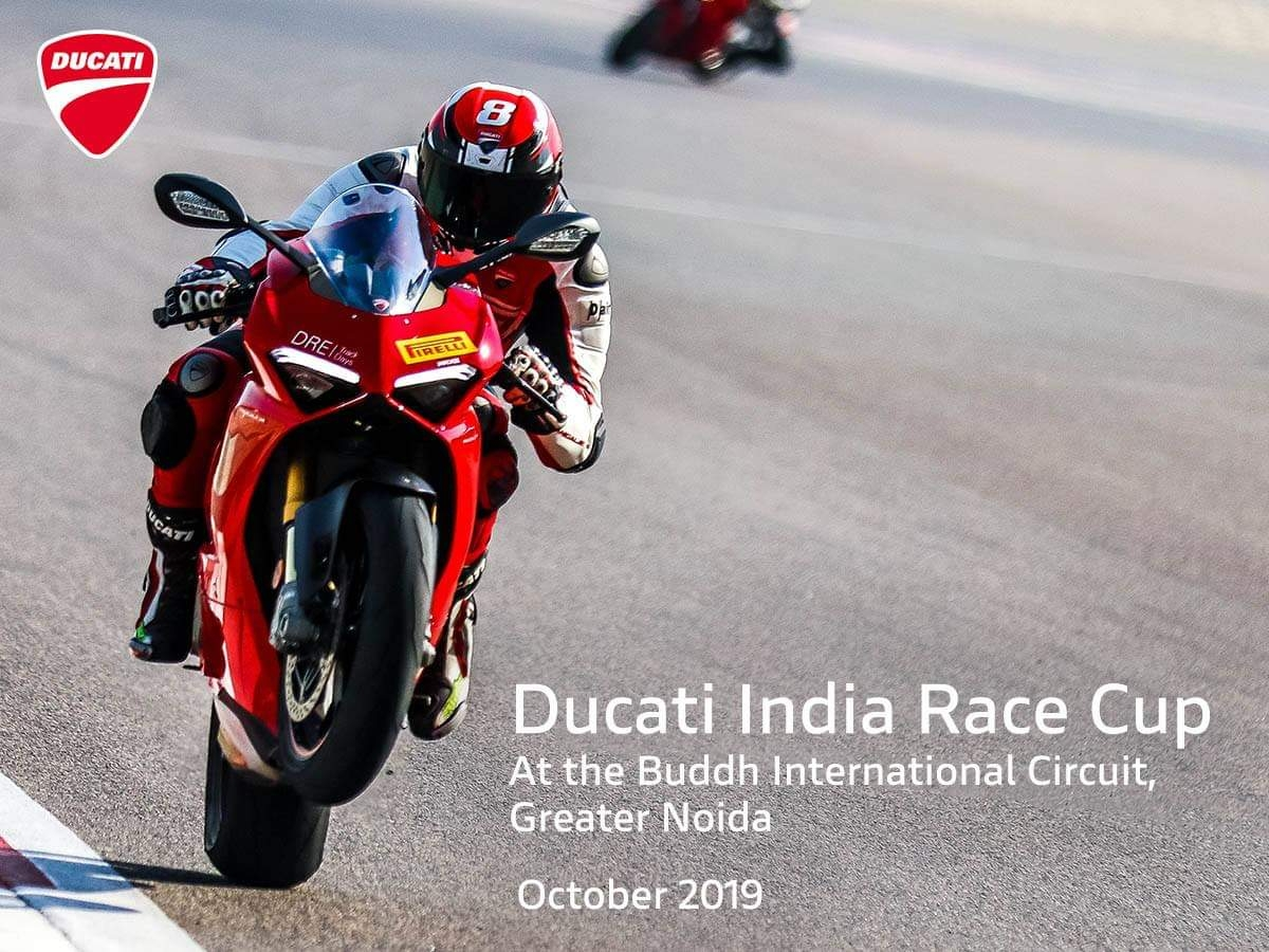 First ever Ducati India Race Cup to be held this year