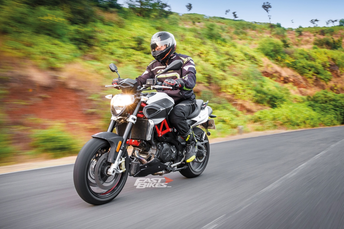 Aprilia Shiver 900 review