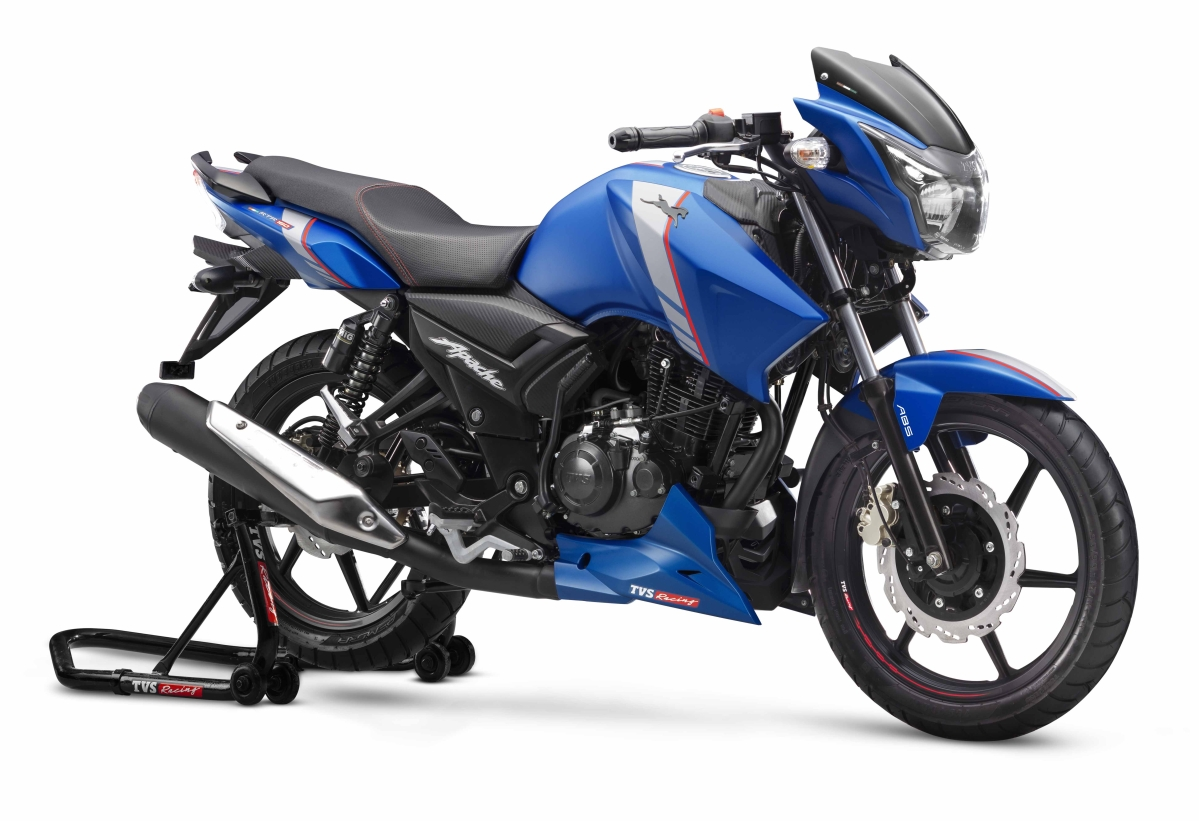 TVS Motor Company updates the Apache RTR lineup with ABS