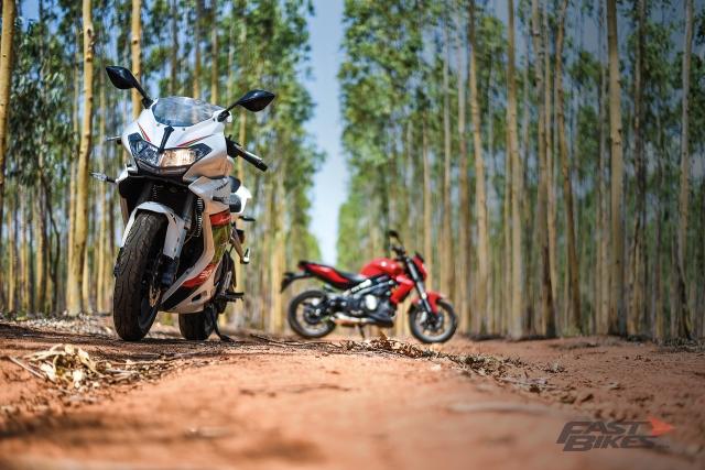 Touring the Golden Quadrilateral on a pre-production Benelli 302R