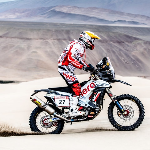Dakar 2019, stage 6: Hero MotoSports' Mena on a high
