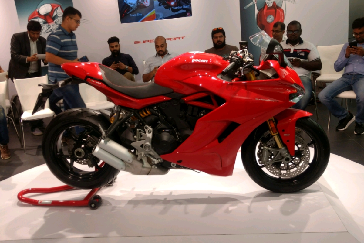 Ducati SuperSport rides into India for Rs. 12.08 lakh