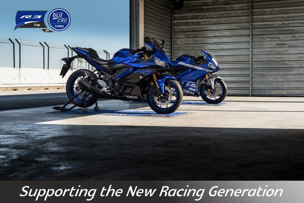 Yamaha announces R3 Blu Cru European cup, stepping stone to World SSP300 series