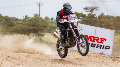 TVS Racing leads in three categories in round five of INRC 2018
