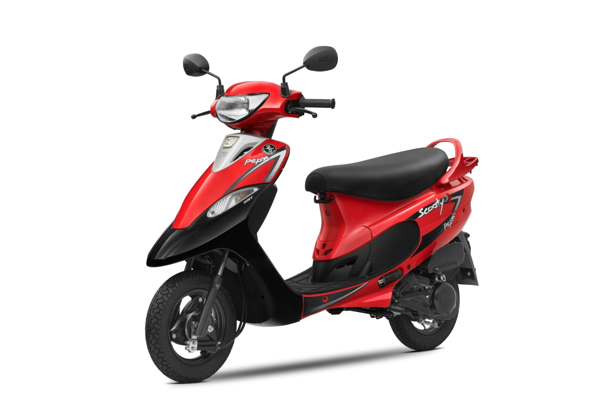 TVS Motor Company celebrates 25 years of Scooty brand, introduces 2 new colours