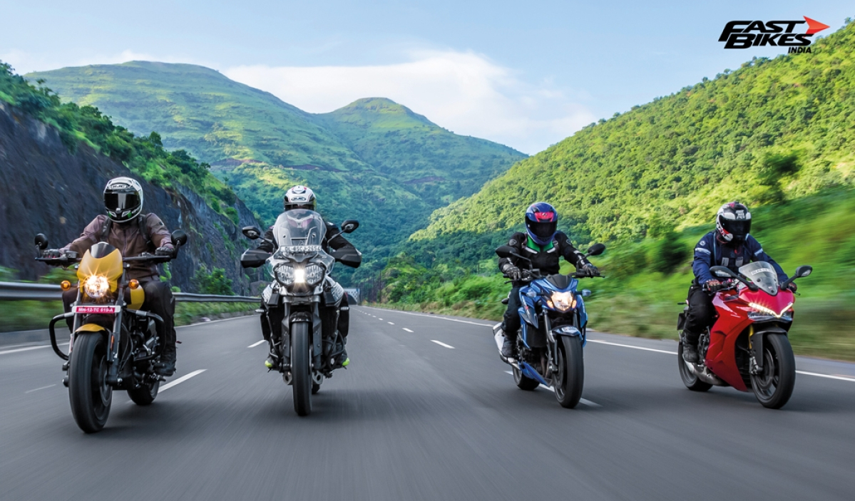 Touring Diaries: Tiger 800 XRx, SuperSport S, GSX-S750 and Street Rod 750