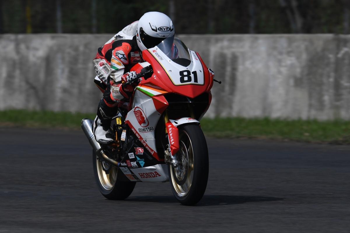 ARRC round five– IDEMITSU Honda Racing India gains 16 points