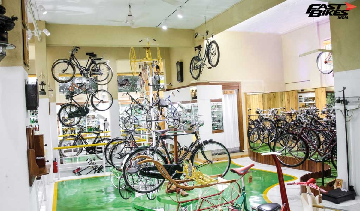 Pedal to the past: Vintage cycle museum