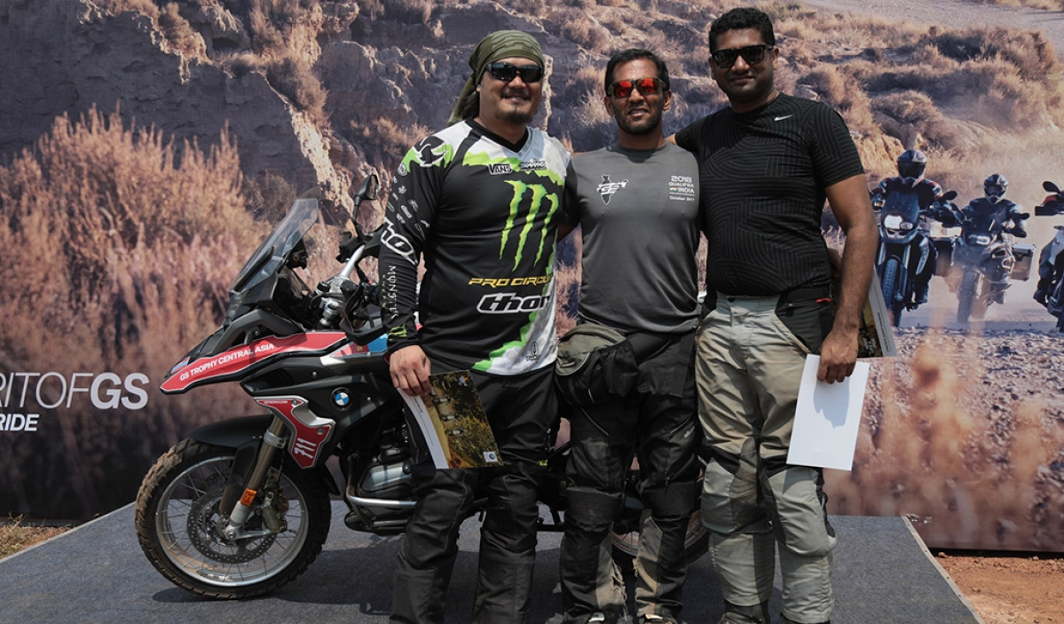 Team India all set for debut in 2018 BMW Motorrad International GS Trophy