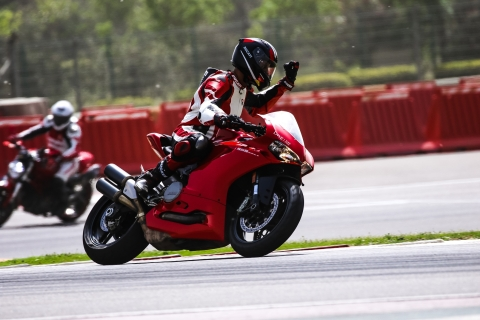 Ducati concludes the first DRE Racetrack Training session