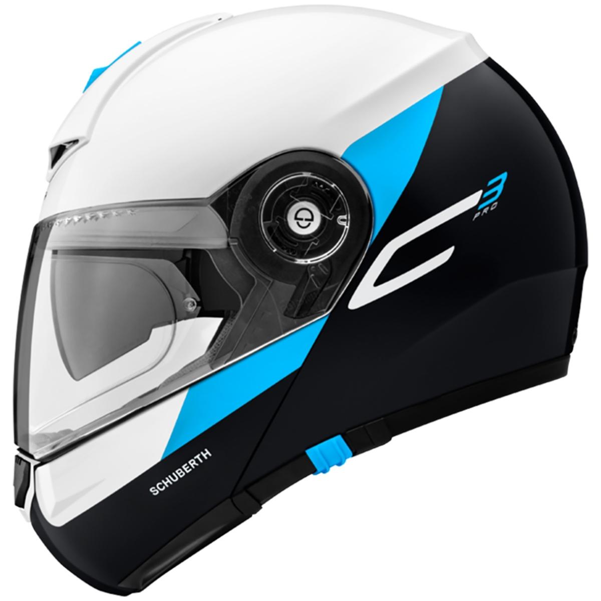 Motorcycle Gear: Schuberth C3 Pro Gravity Blue