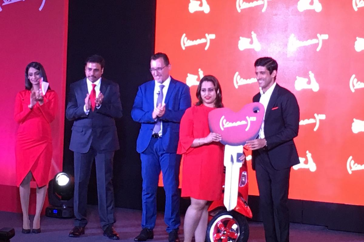 Piaggio launches the Vespa RED