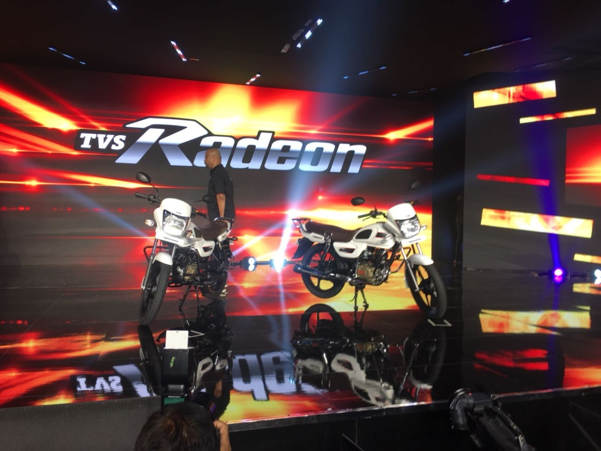 TVS unveils its latest commuter motorcycle – the Radeon