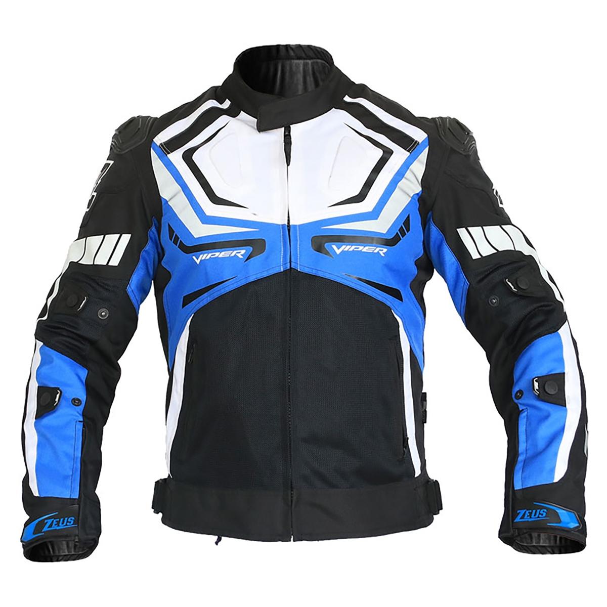 Motorcycle Gear: Zeus Viper Riding Jacket