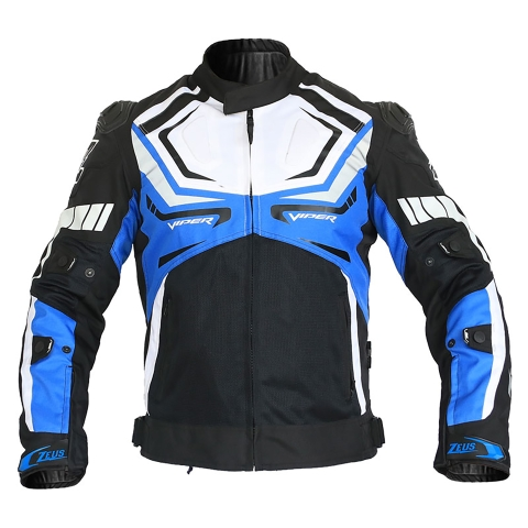 Motorcycle Gear: Zeus Viper Riding Jacket