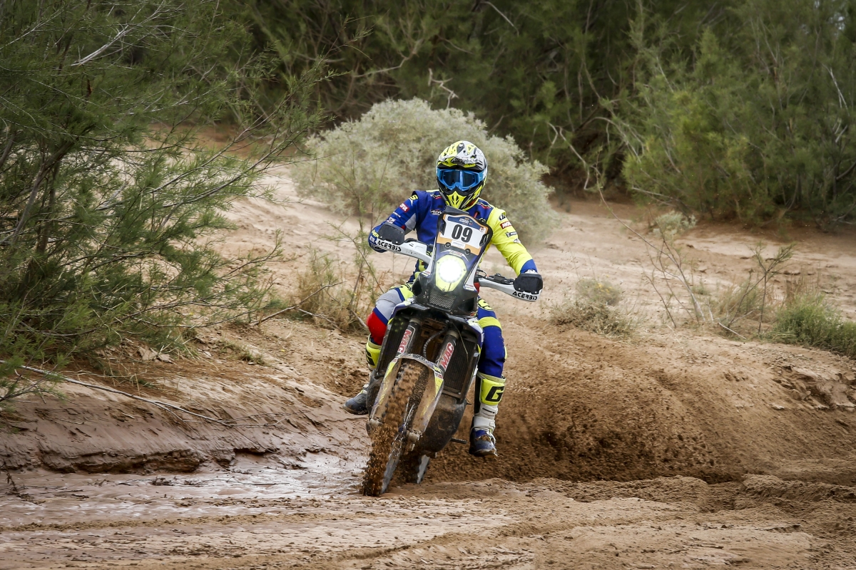 Mixed luck for Sherco TVS Rally Factory Team in Stage 3